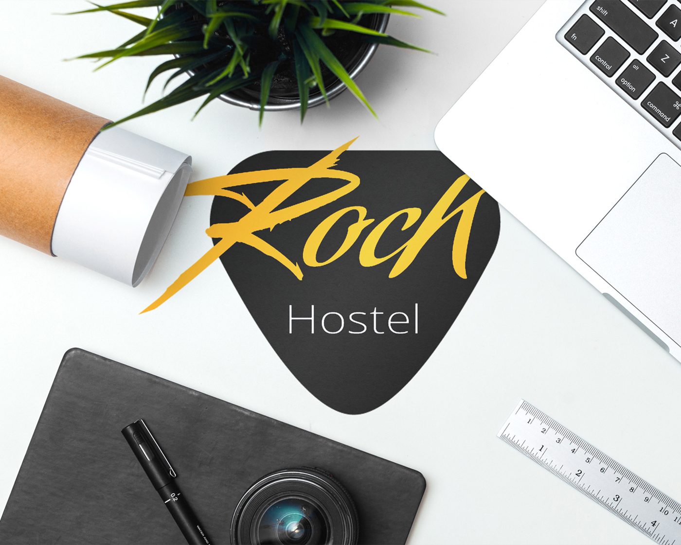 Rock Hostel – Branding