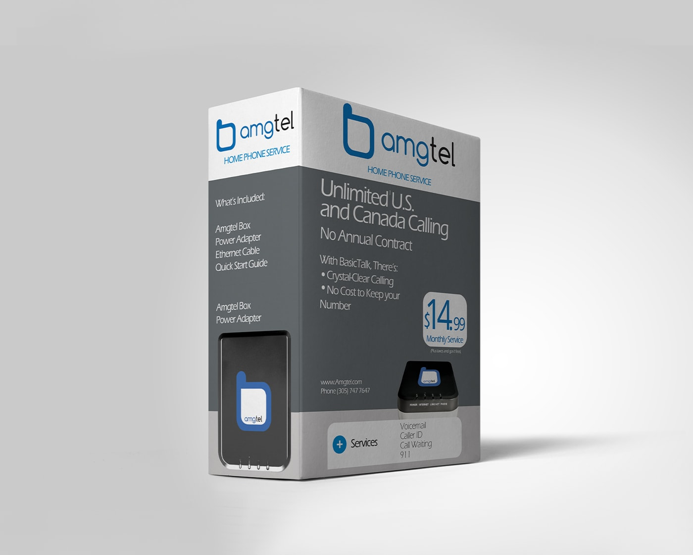 Amgtel – Packaging